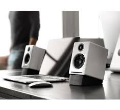 audioengine a2 premium powered desktop speakers with stands