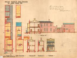 english victorian terraced house plans house interior