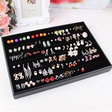 earring holder for studs black velvet leather earrings frame wheel stud earring earrings