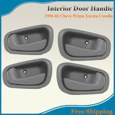 1998 Toyota Corolla Interior Door Handle Set Of 4 Chevy Prizm Toyota Corolla Interior Door Handle 98 02