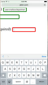html input pattern safari input type email better don t use it justmarkup