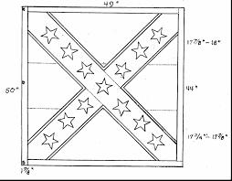 extraordinary civil war flags coloring pages civil war