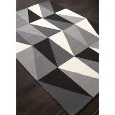 Geometric Outdoor Rug Rugada Jaipur Colours Geometric Pattern Polypropylene Gray