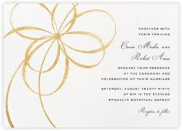 online wedding invitation the knot online at paperless post