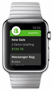 apple watch black friday amazon shopify now available on apple watch