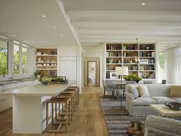Open Concept Kitchen Floor Plans Open Concept Floor Plans Family Room Transitional With Open