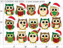christmas owl clip art 91938