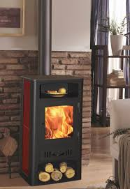 contemporary wood burning stoves for the designer look glowing