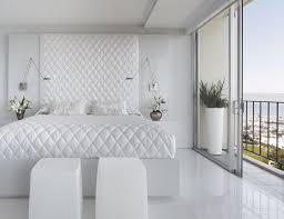 Unique Headboard Get Calm Privacy Space Through White Bedroom Ideas Bedroom