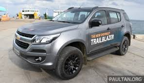 chevrolet trailblazer 2016 chevrolet trailblazer facelift being looked at for malaysia u2013 trax