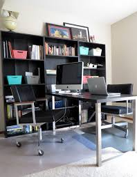 Home Decor Offers Furniture Smart And Functional Office Desk With Bookshelves