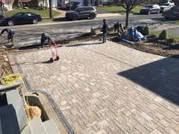 Poolside Designs Above All Masonry Design Uses Unilock Pavers In Large Scale Long