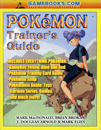 Pokemon Trainer Card Designer Pokemon Trainer U0027s Guide Sc 1999 Comic Books