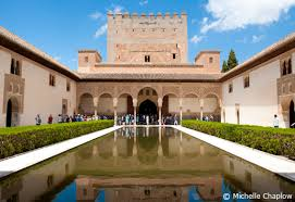What Does El Patio Mean The Alhambra Palace In Granada City Tourist Information