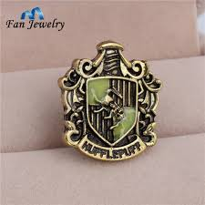 aliexpress com buy wholesale hufflepuff college metal pin