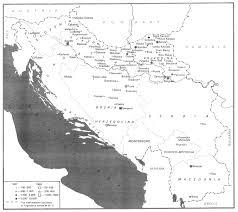 Yugoslavia Map Jews In Yugoslavia 03 Holocaust 1941 1944 Encyclopaedia Judaica
