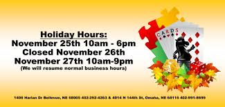 thanksgiving hours the shoppe