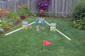 outdoor fun backyard mini golf course kix cereal