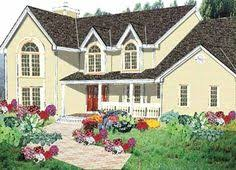 Open Floor Plan Country Homes The Saddlebrook Plan 762 Twin Gables And A Generous Front Porch
