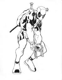 free deadpool and spiderman coloring pages 5594 deadpool and
