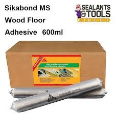 sika sikabond ms wood floor flooring adhesive 600ml box 12 fpskbdmsfl6