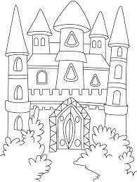 55 castles dragons knights coloring pages images
