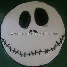 Nightmare Before Christmas Birthday Party Decorations - coolest homemade nightmare before christmas cakes