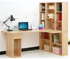 Corner Computer Desk With Shelves Book Shelf Desk Corner Computer With Bookshelves And Bookshelf