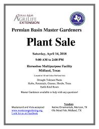 west texas native plants permian basin master gardeners association