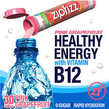 zipfizz helthy energy mix dietary supplement vitaminb12 lemon iced
