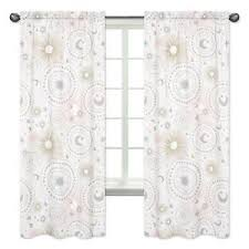 Pink And Gold Curtains Pink Gold Moon Window Treatment Panels Curtains For Sweet Jojo