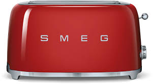 Bagel Setting On Toaster Smeg Tsf02 Countertop Toaster With 4 Slice Capacity Defrost