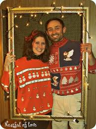 dress up ugly christmas sweaters with clip on leds