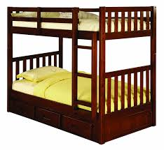 Bunk Bed With Mattresses Included Amazon Com Discovery World Furniture Twin Over Twin Bunk Bed With