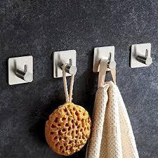 haken badezimmer fowlan handtuchhaken haken selbstklebend handtuchhalter bad und