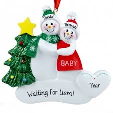 expecting couples ornaments u0026 gifts personalized ornaments for you