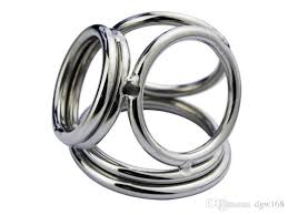 ball rubber rings images New stainless steel four rings cock ring metal penis ring male jpg