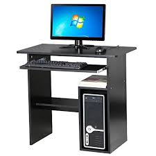 Wide Computer Desks Popamazing 80 Cm Wide Computer Desk With Shelves Cupboard For A
