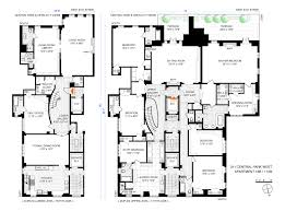 Park Central Floor Plan 211 Central Park West 16b 17ab New York Ny 10024 Core Real Estate