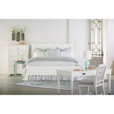 Joanna Gaines Products Queen Bed With Scallop Trimming By Magnolia Home By Joanna Gaines