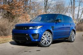 range rover blue 2016 land rover range rover sport our review cars com