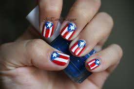 Puertorican Flag New Puerto Rican Flag Nail Designs Collection Nail Design U0026 Art