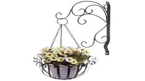3 tier decorative black metal plant stand planter holder multi