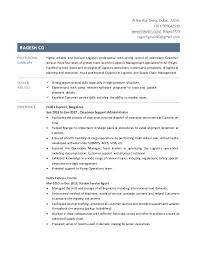 Package Handler Resume Sample by Fedex Resume Resume Cv Cover Letter