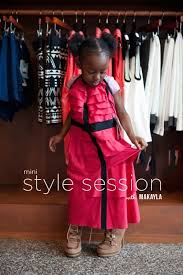 mini style session with four year old makayla style sessions