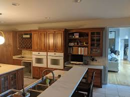 what color walls with wood cabinets how to update a kitchen with wood cabinets without painting