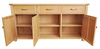 Large Sideboards Cabinet Oak Sideboards Prominent Weathered Oak Sideboards