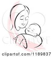 royalty free rf mother and baby clipart illustrations vector