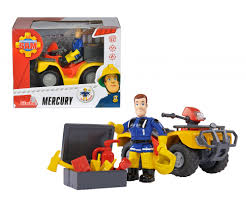 sam mercury quad figurine fireman sam brands shop
