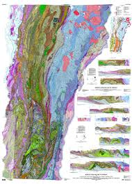 Map Of Vt In This State Eons Charted In New Geological Map Of Vermont